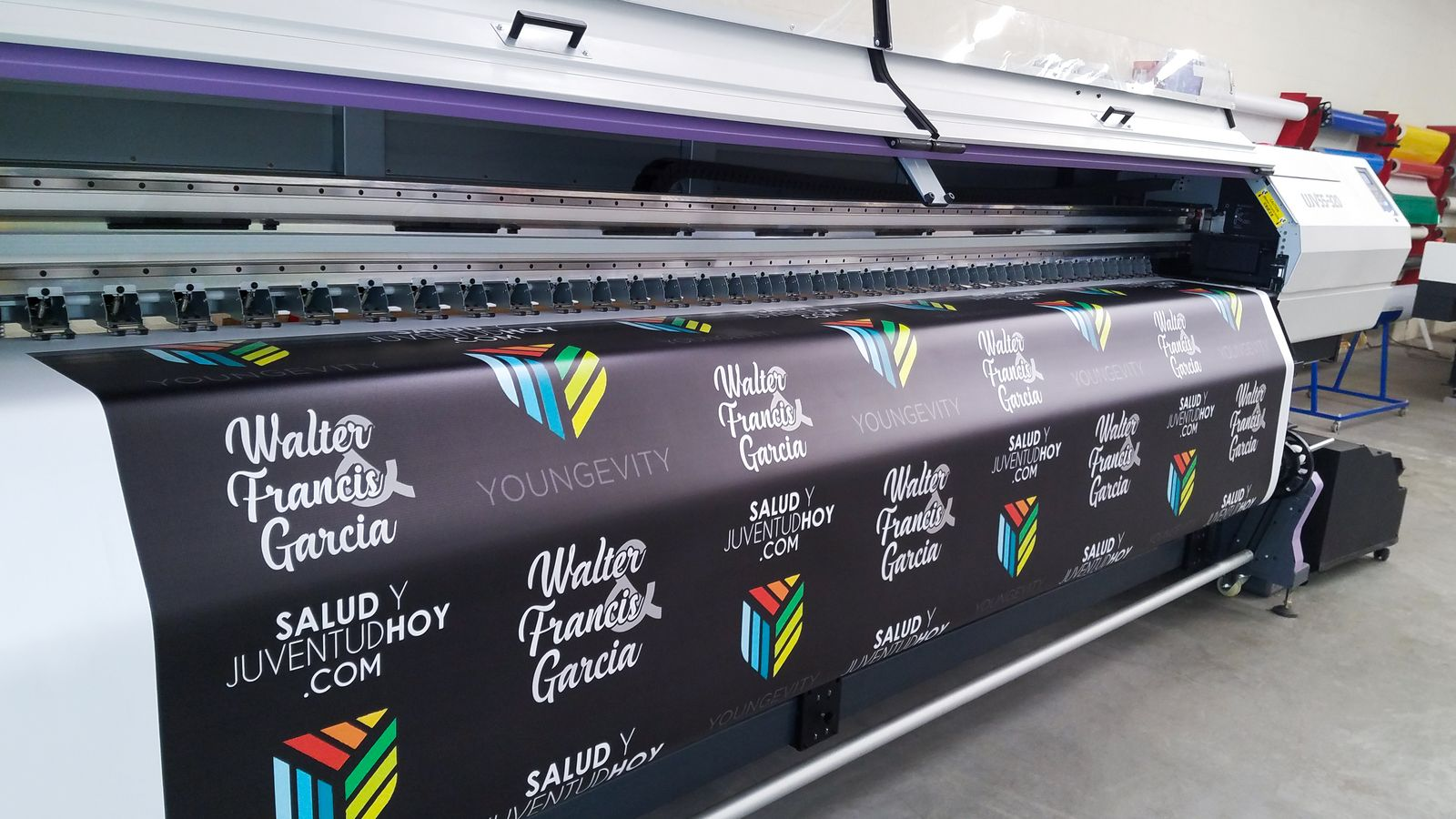 big banner uv ink printing