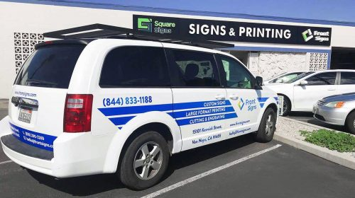 business vehicle wrap
