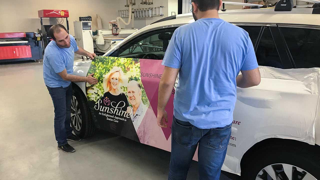car wrap installation process