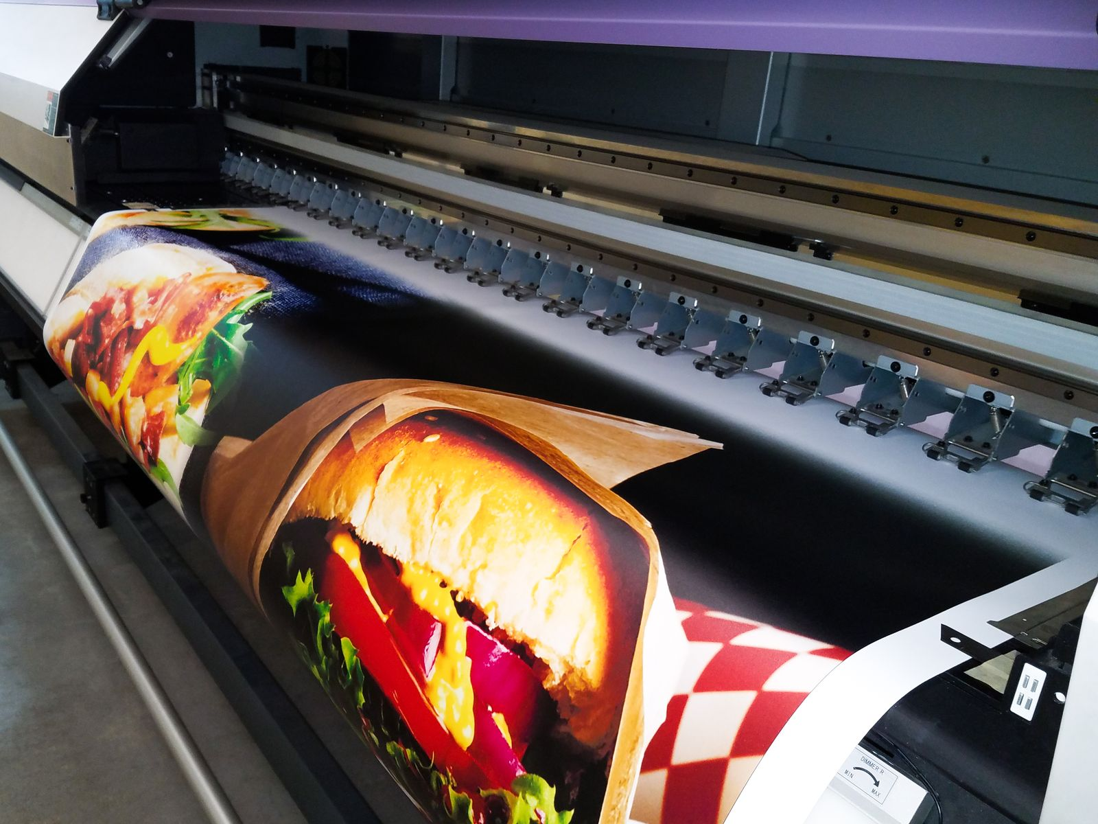 colorful banner printing