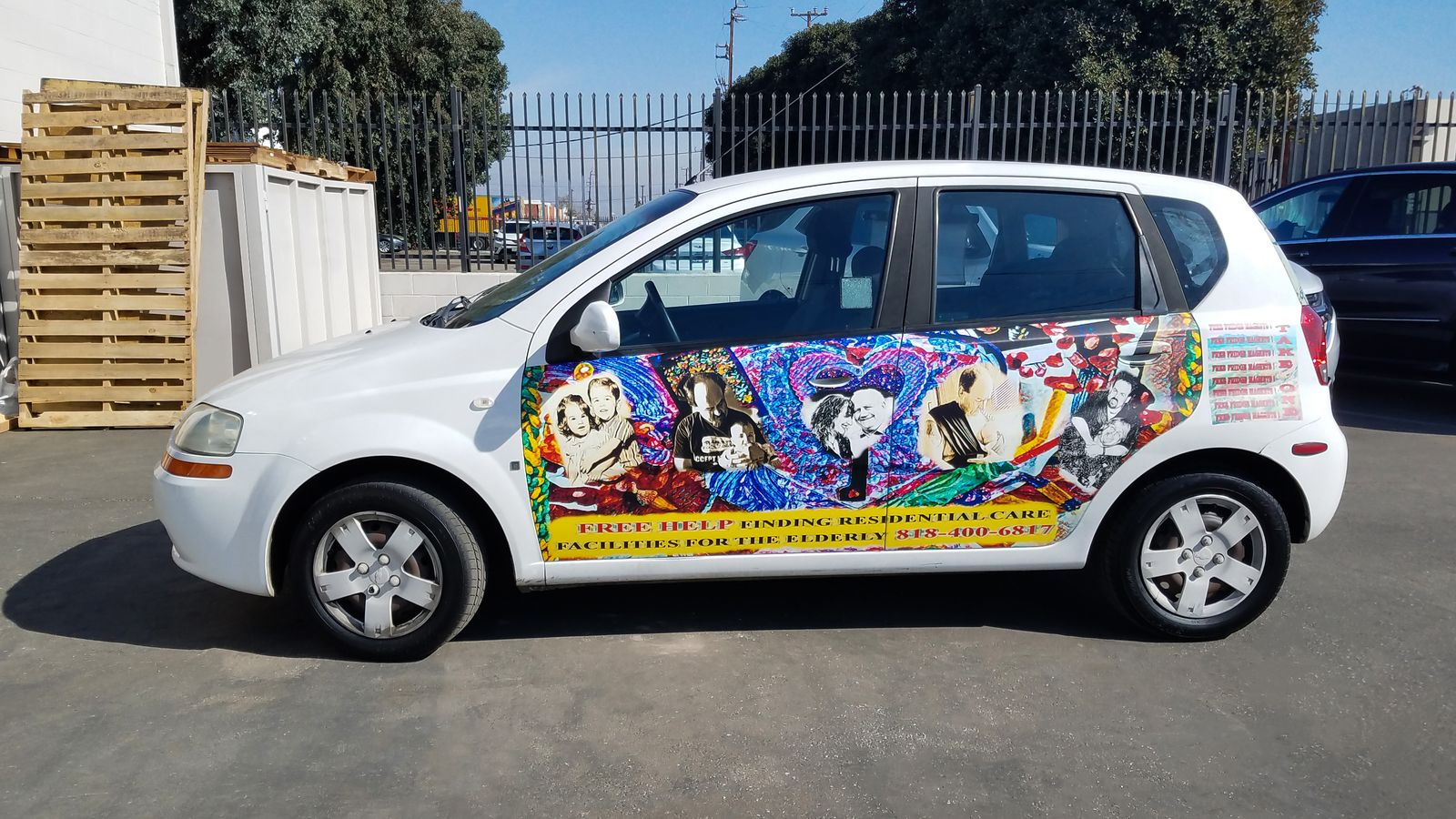 corporate car promotional decals
