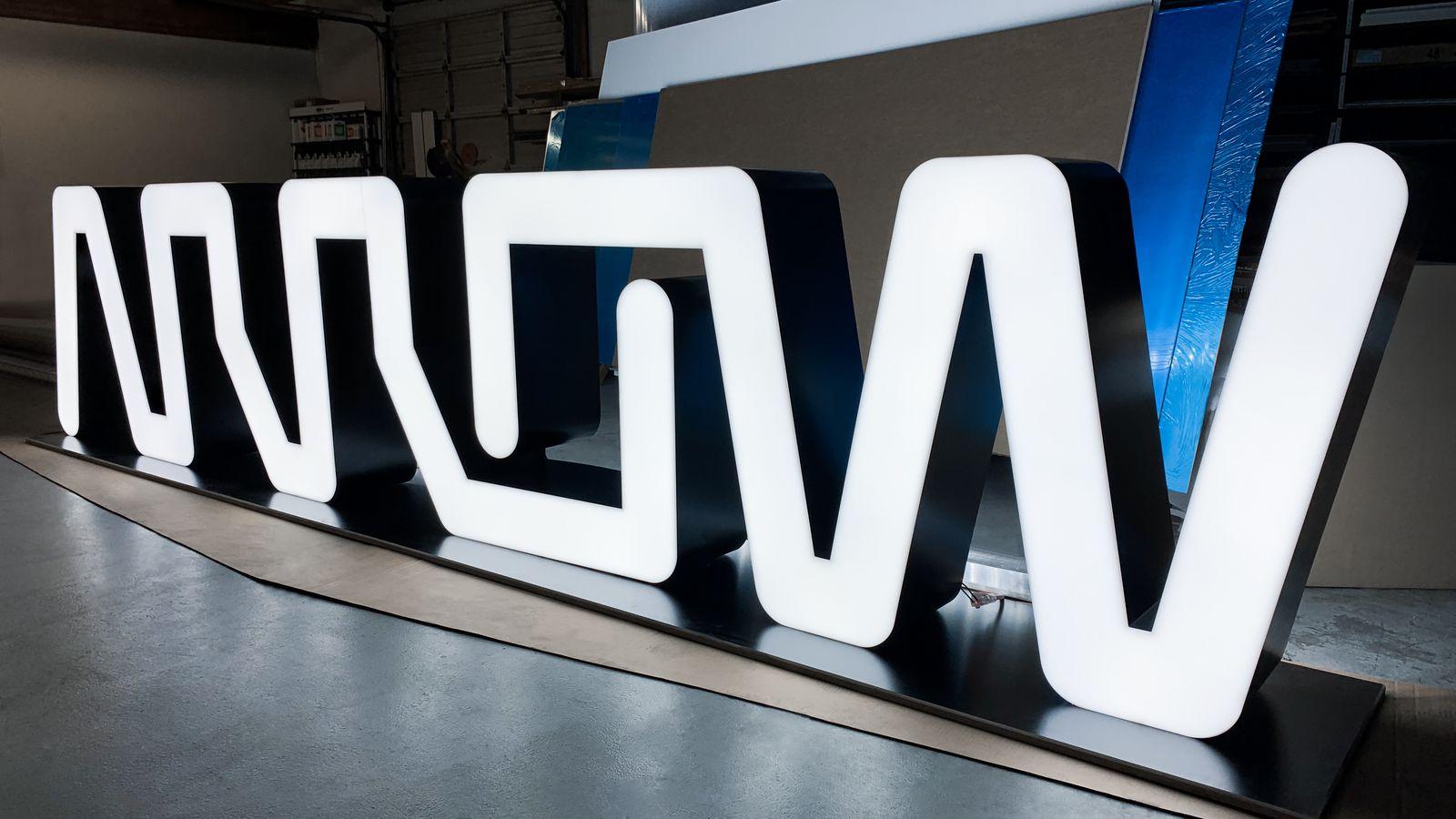 custom illuminated signage