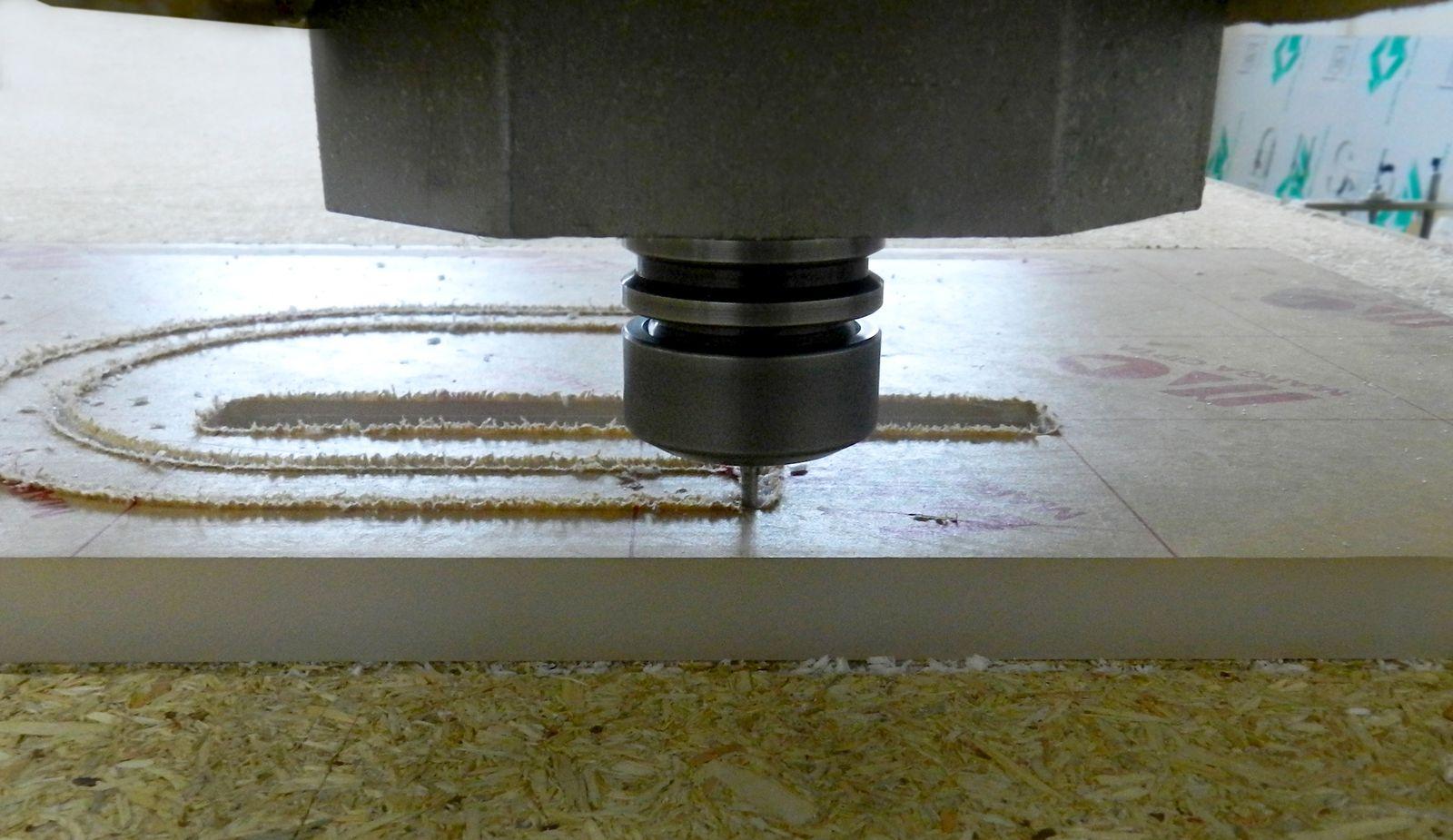 cutting process of Acrylic plastic