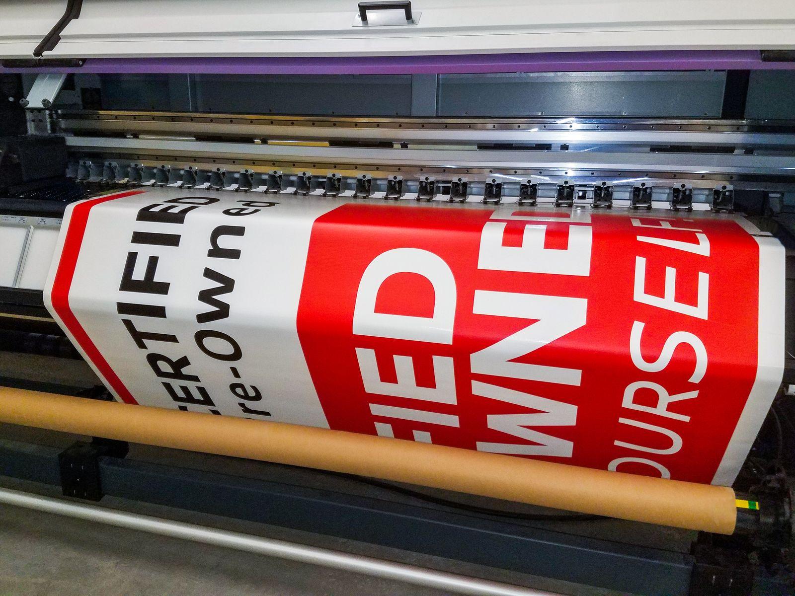 decal uv printing process