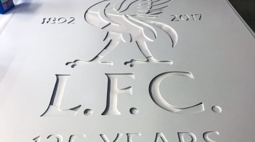 engraved pvc sign