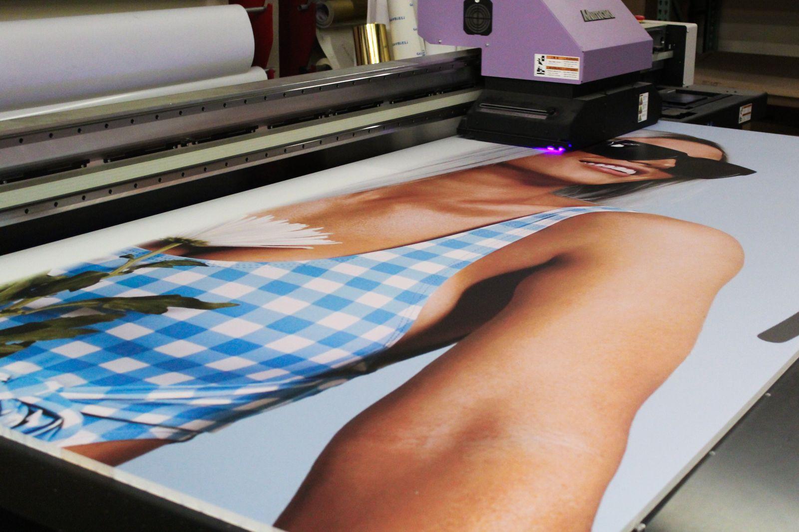 foamboard printing process