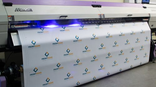 front signs banner printing