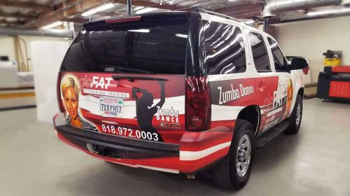 fully wrapped vehicle