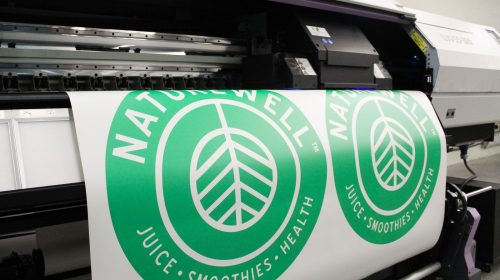 green vinyl printing