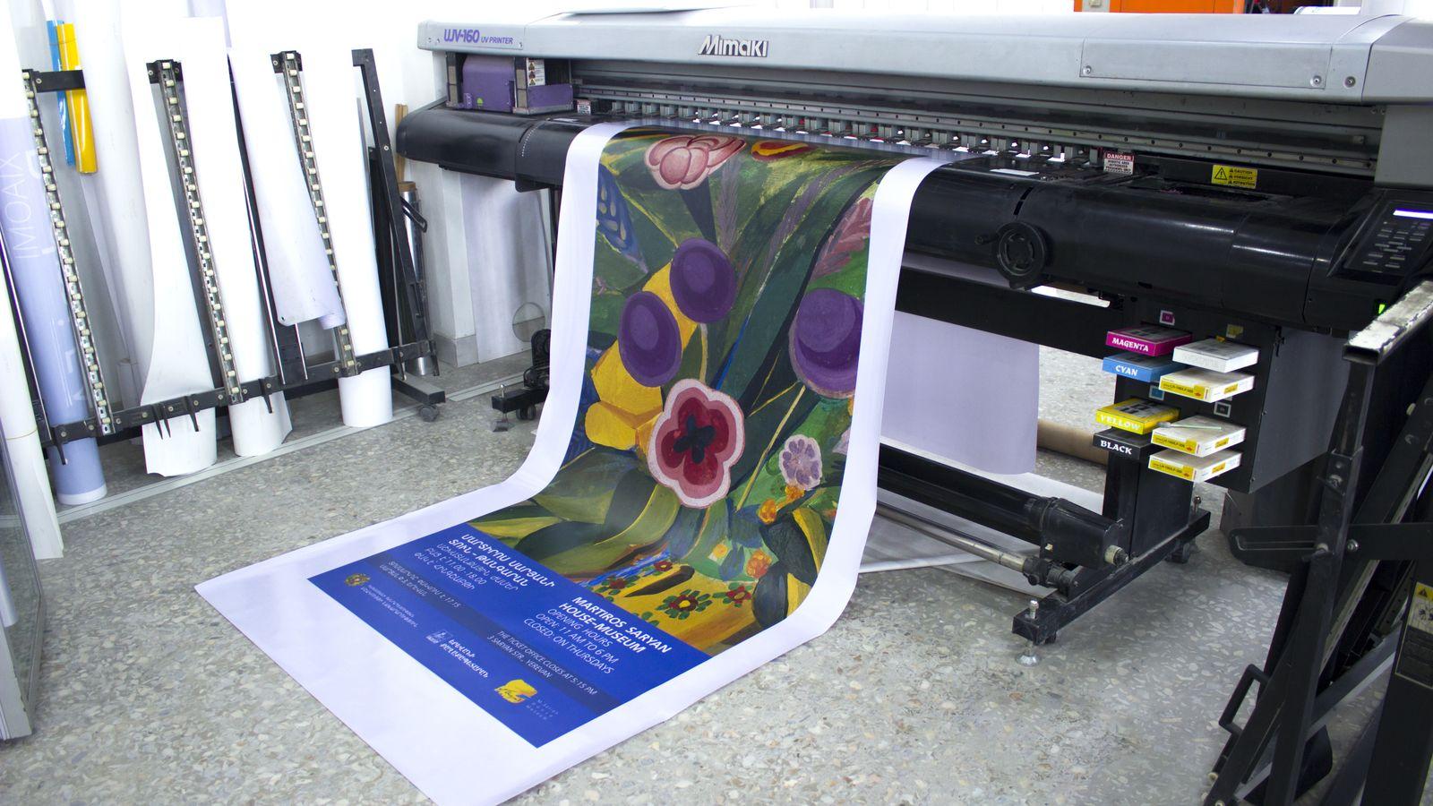 opaque vinyl printing process