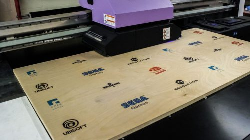 plywood direct printing