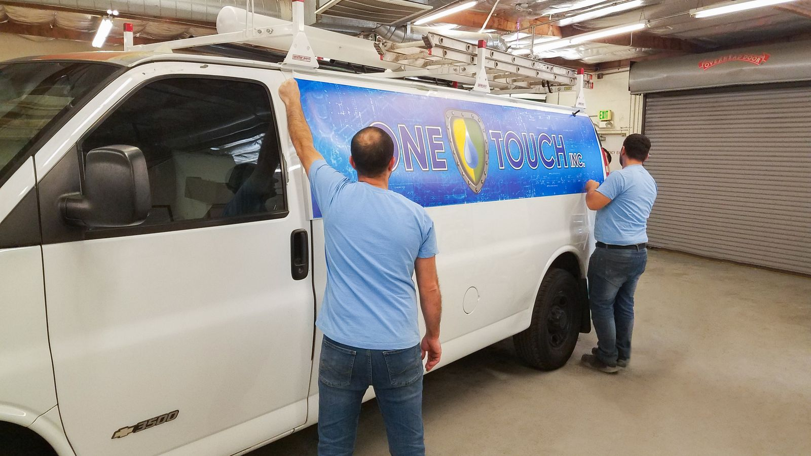 promotional Car wrap installation