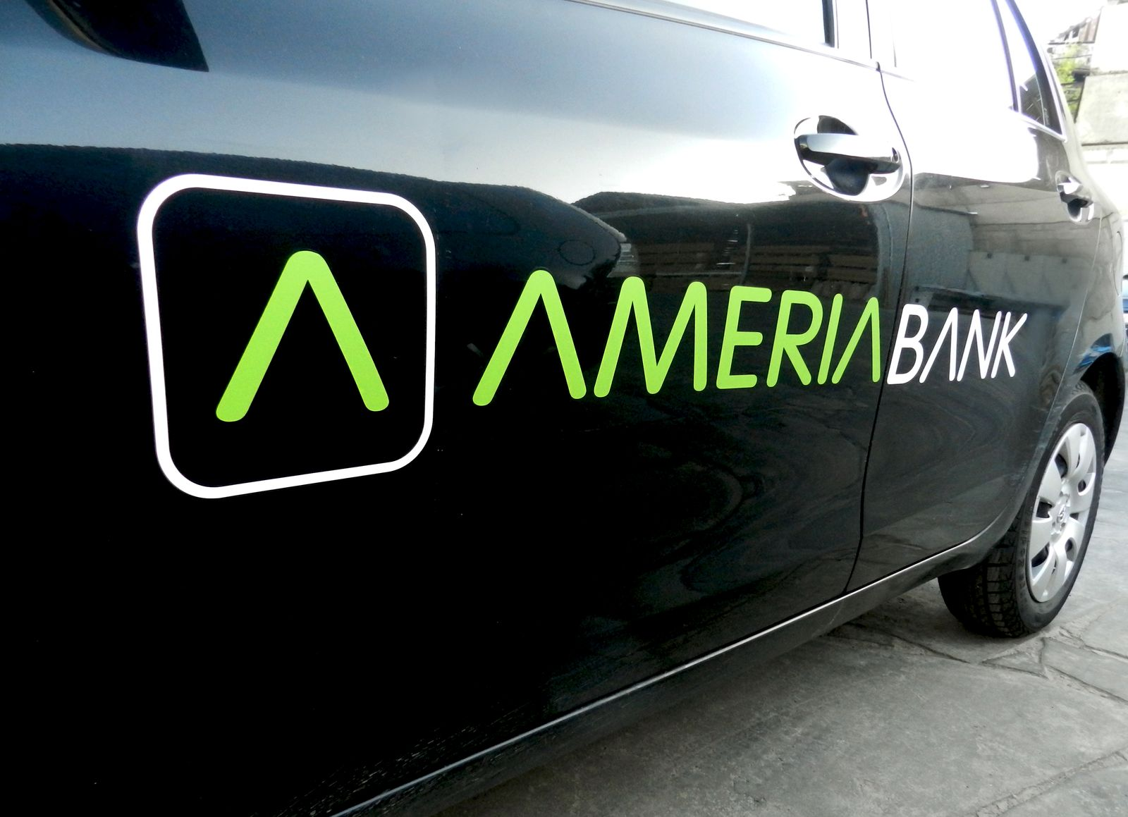 promotional car graphics