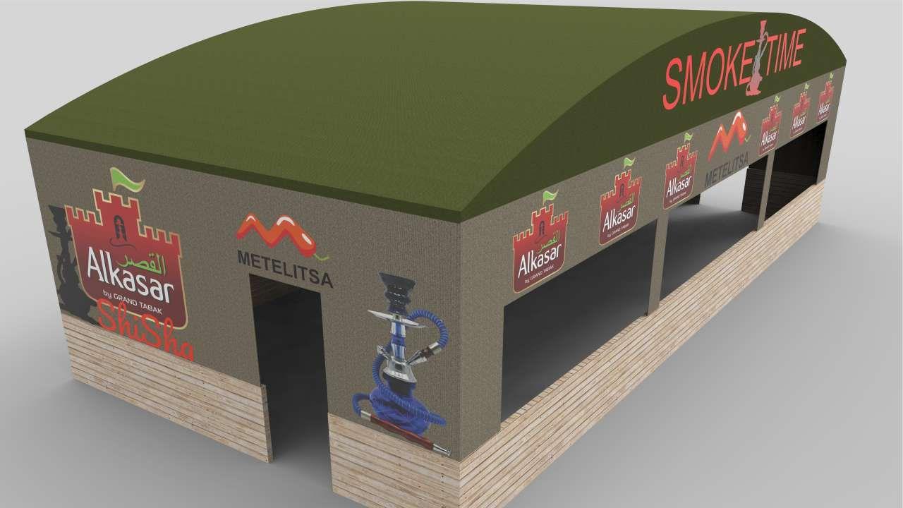 signage 3d modeling