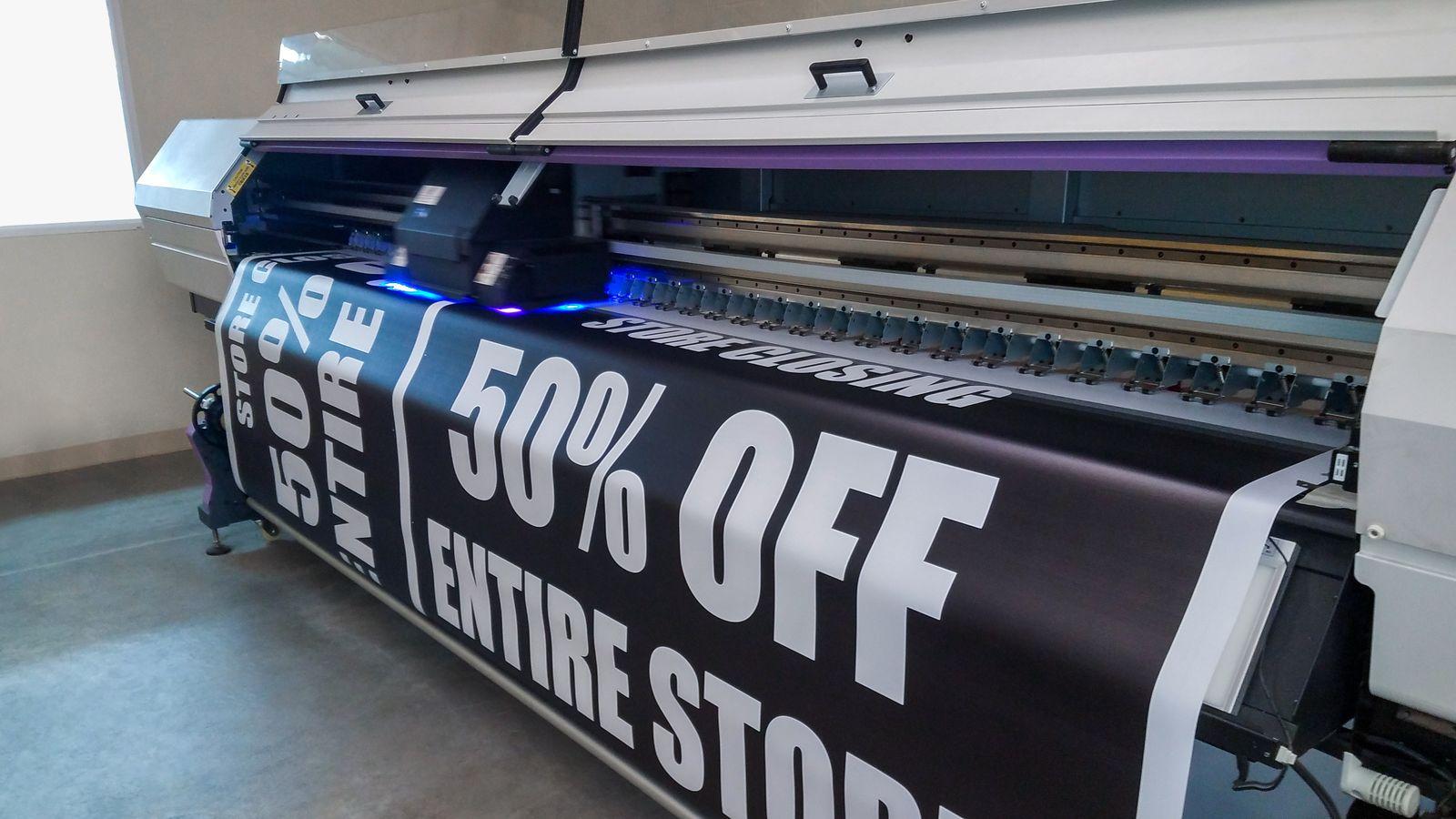 vinyl banner large format printing