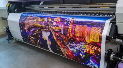 vinyl banner printing process