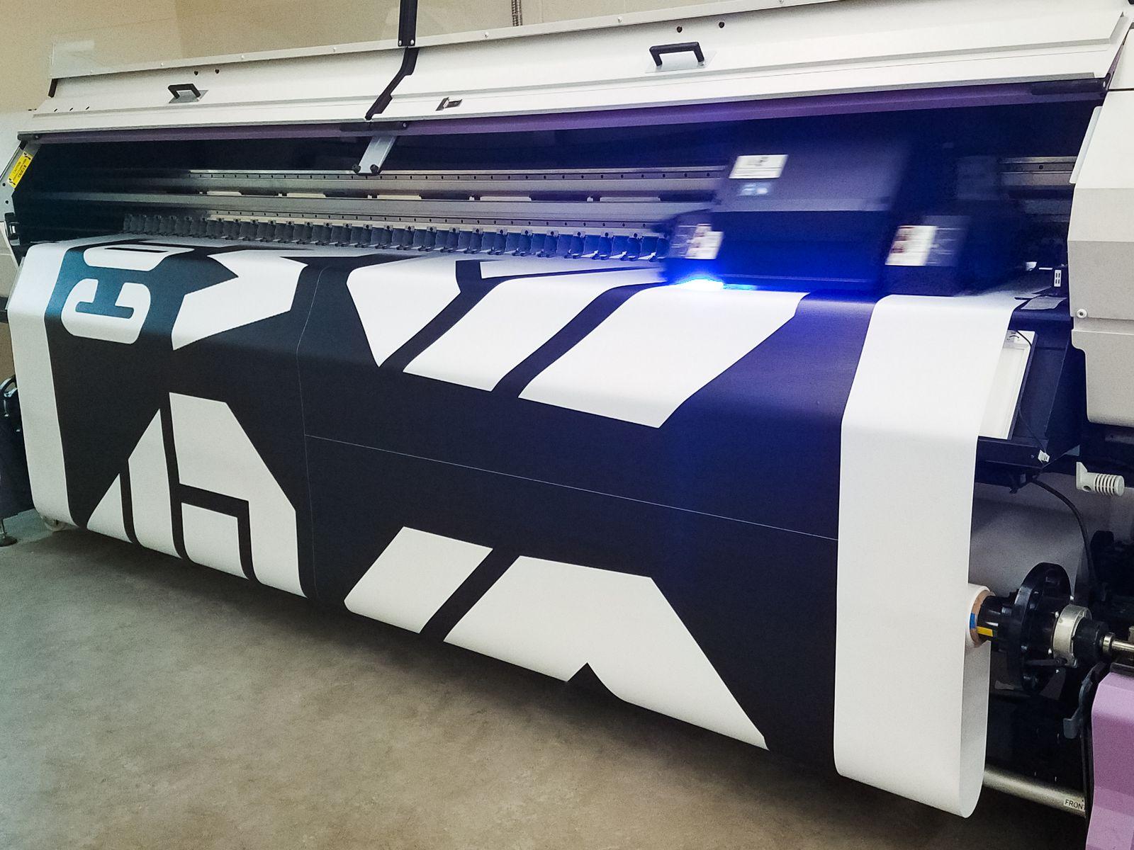 vinyl banner uv curing