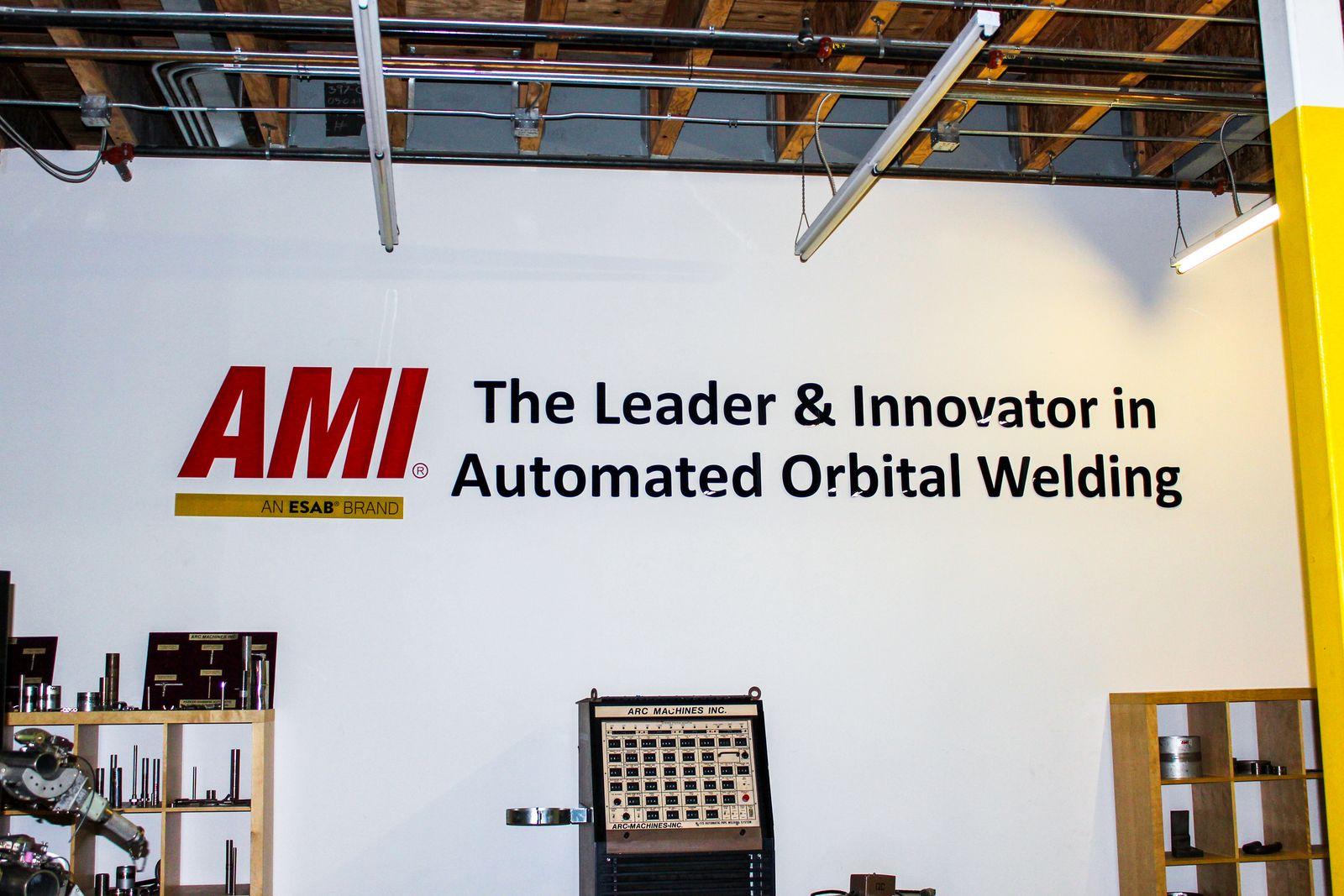 wall mounted acrylic sign