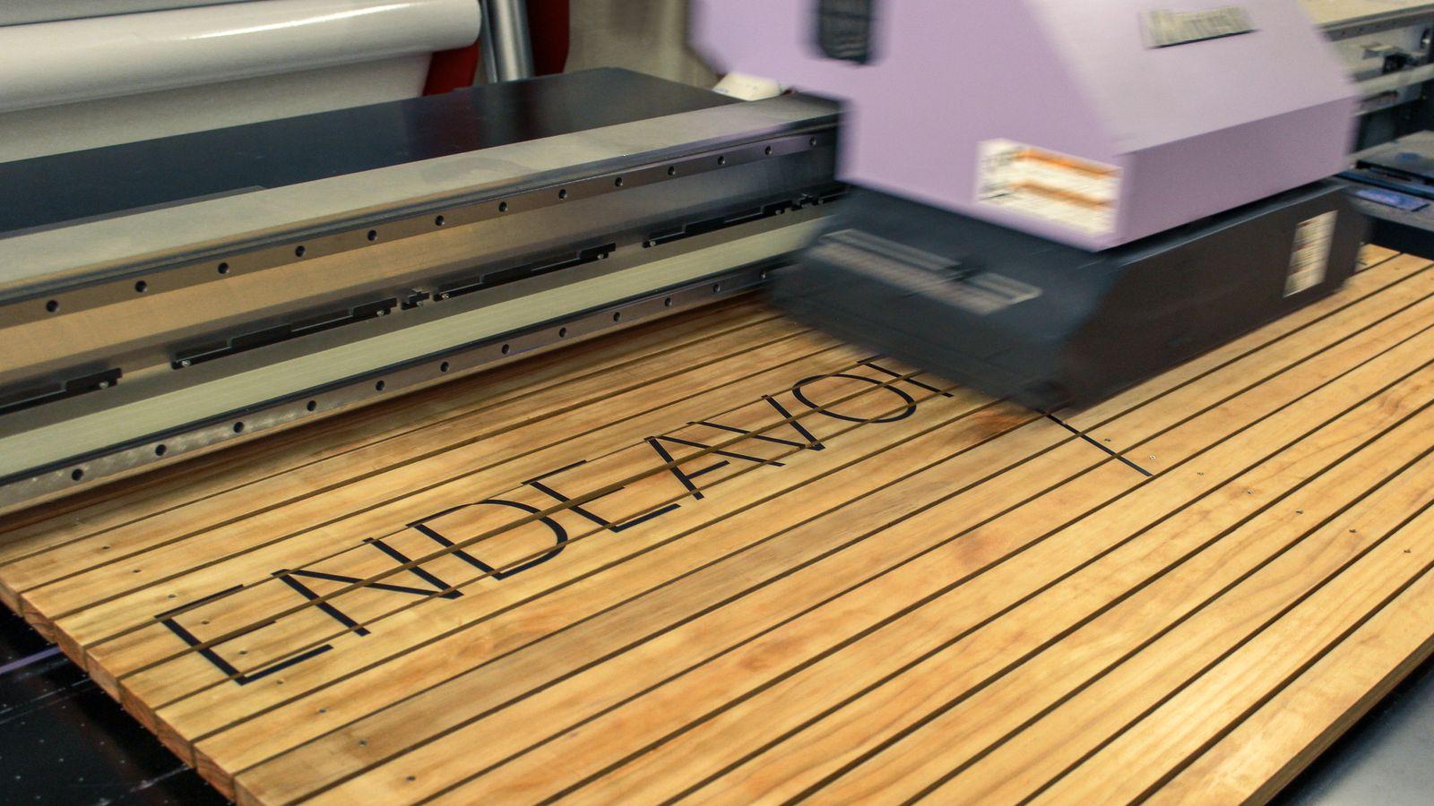 wood printing process