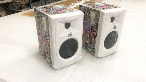 custom stickers for speakers