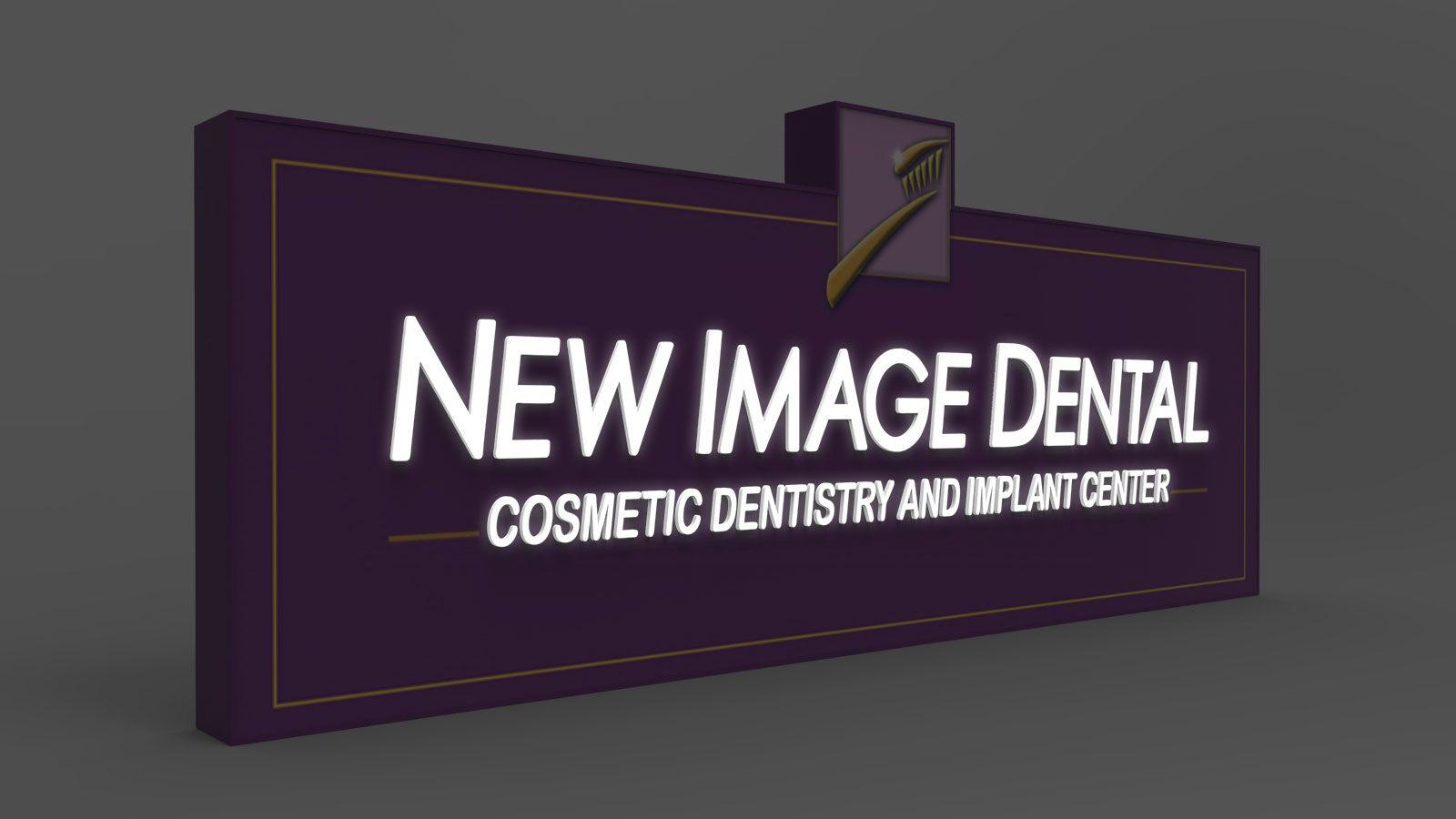 illuminated 3d rendering