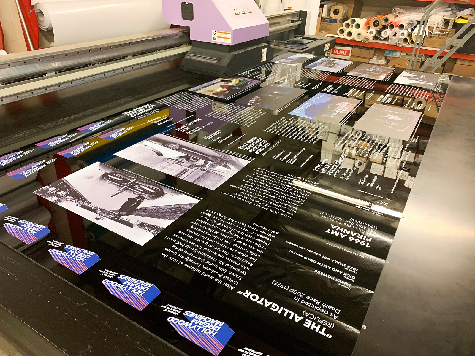 rigid acrylic sign printing