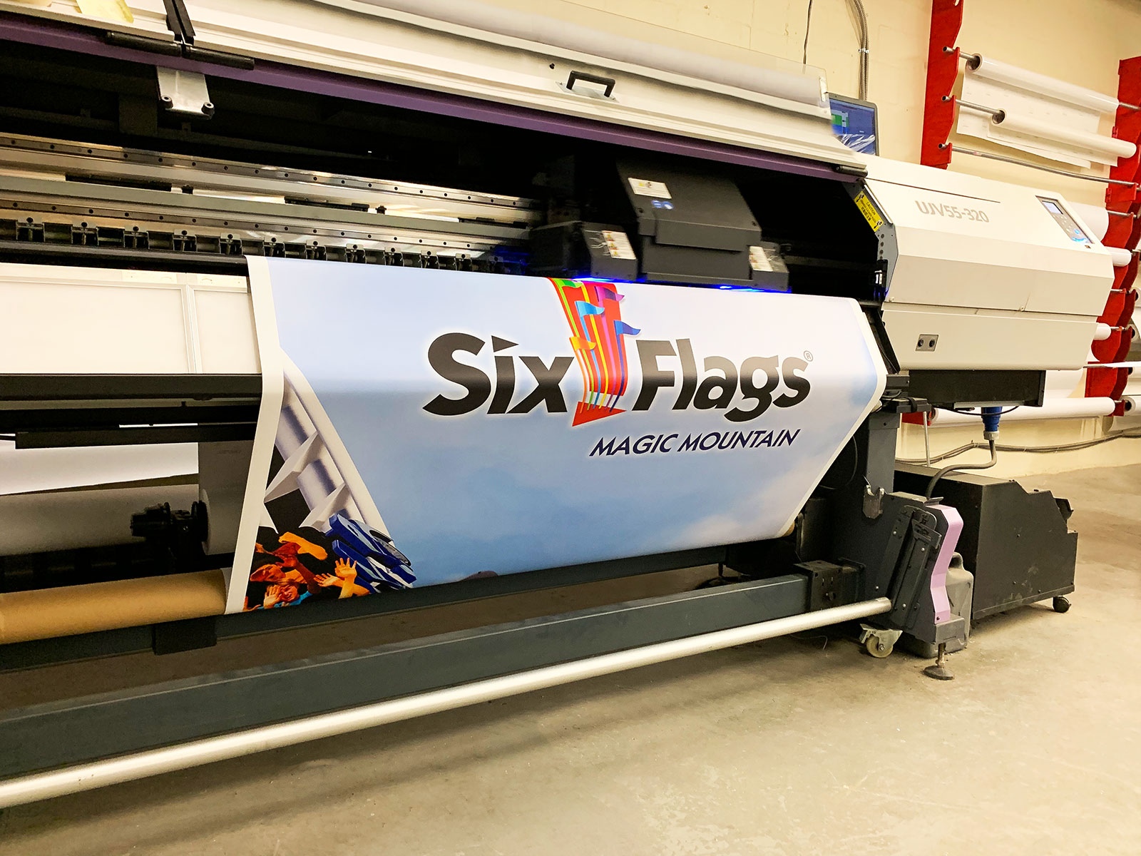 siz flags banner printing