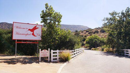 Dibond yard sign