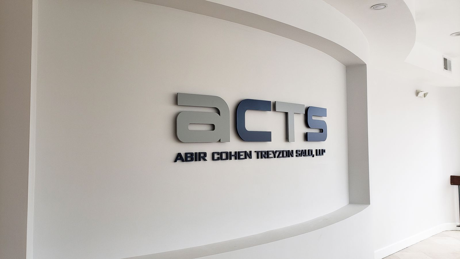 acrylic 3d office letters