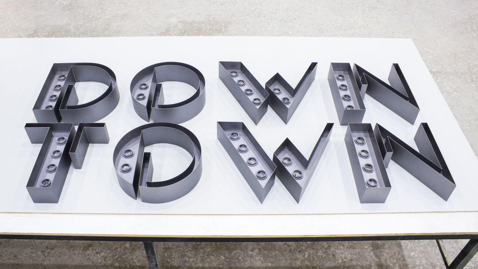 aluminum marquee letters