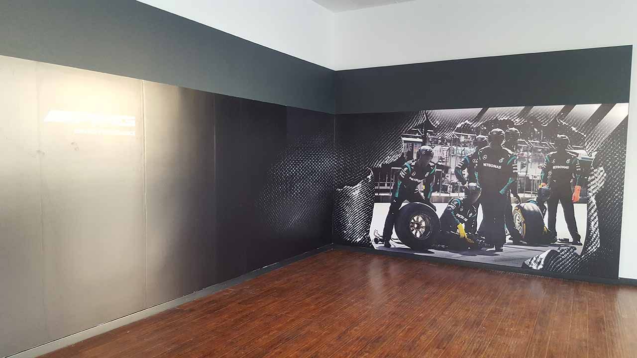 black interior decals