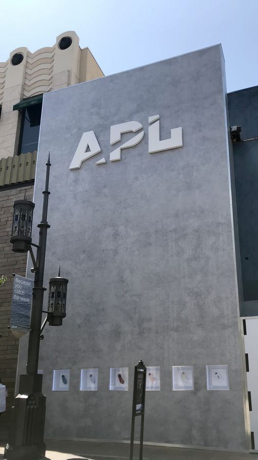 building mounted 3D letters