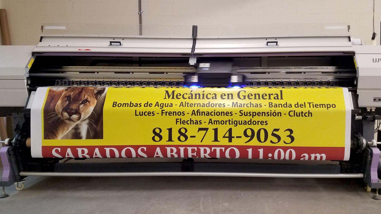 business vinyl banner