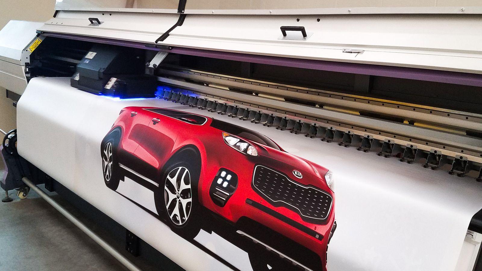 car vinyl banner printing
