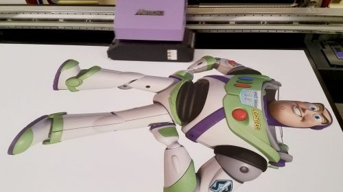 cartoon foam core sign printing