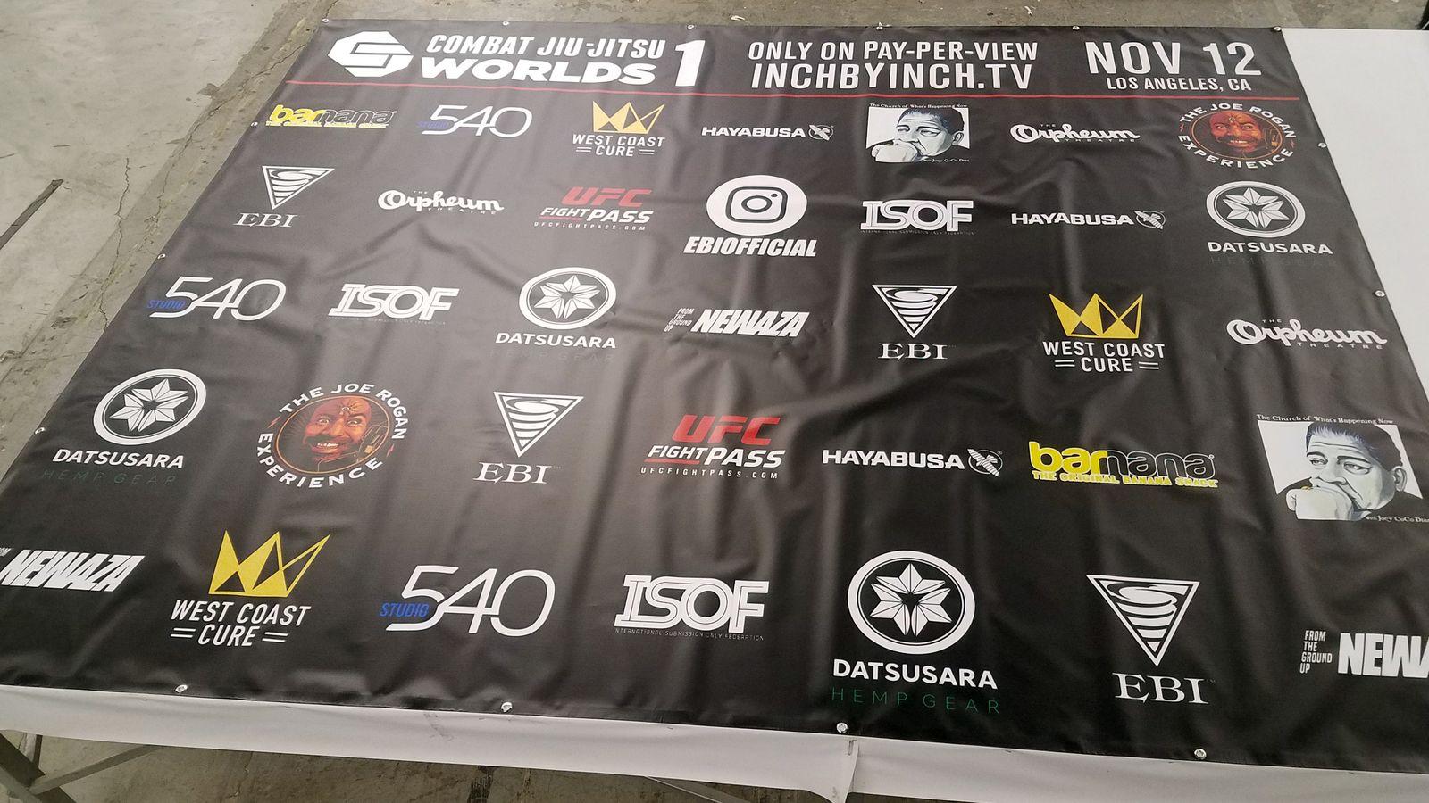 combat vinyl banner