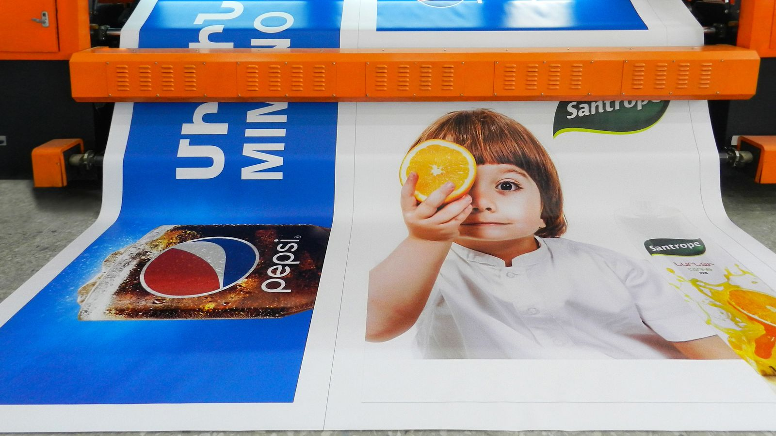 commercial banner printing process