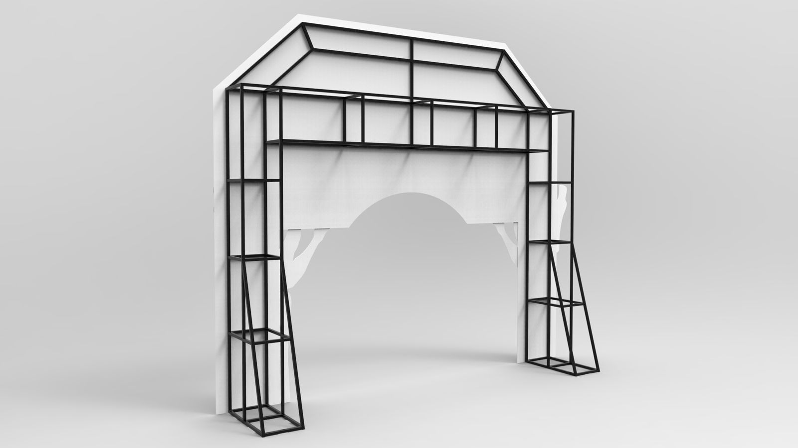 display 3d rendering