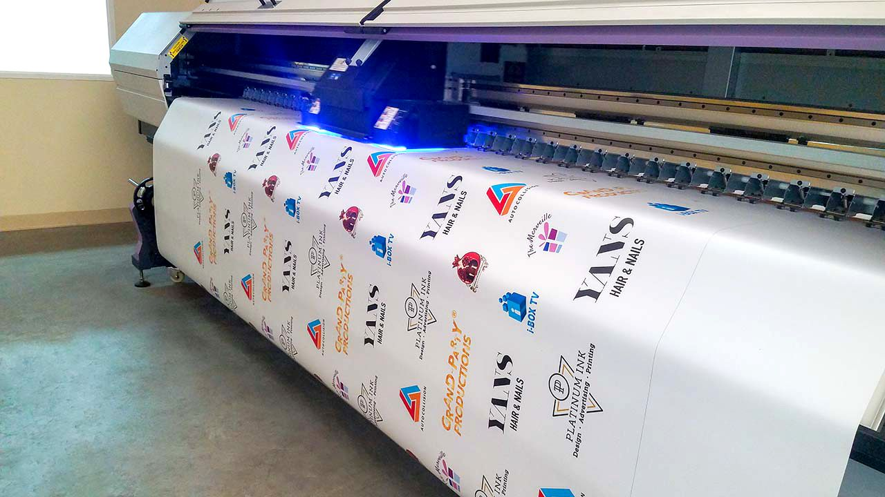 event banner printing