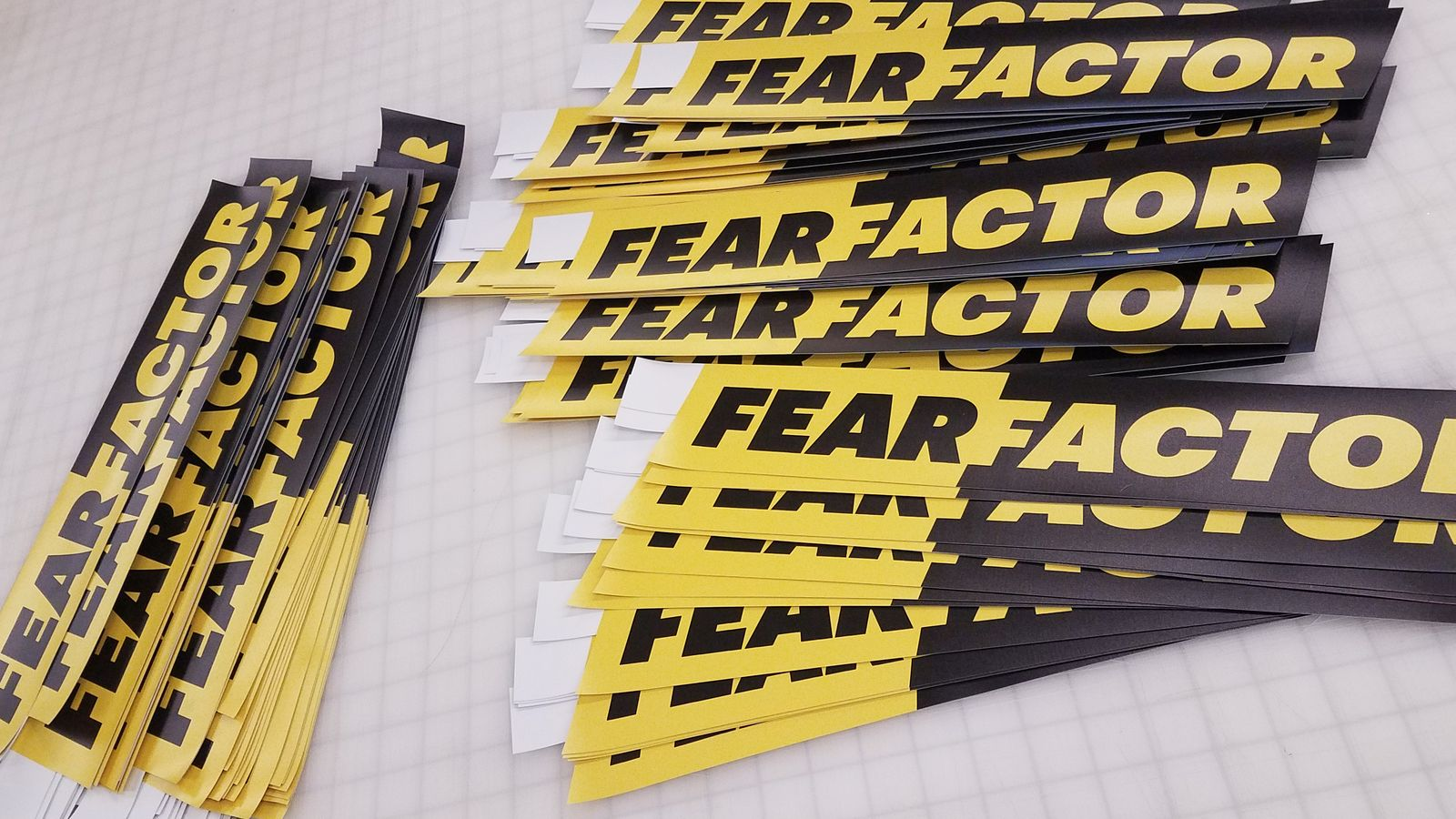 fear factor opaque decals