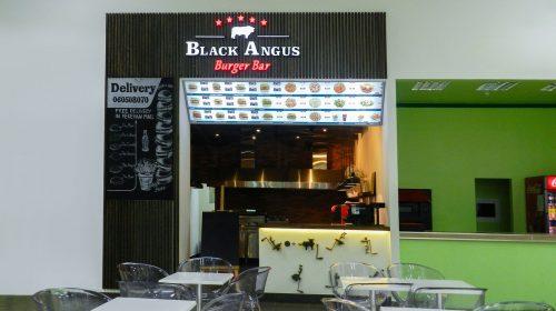 food court illuminated signs