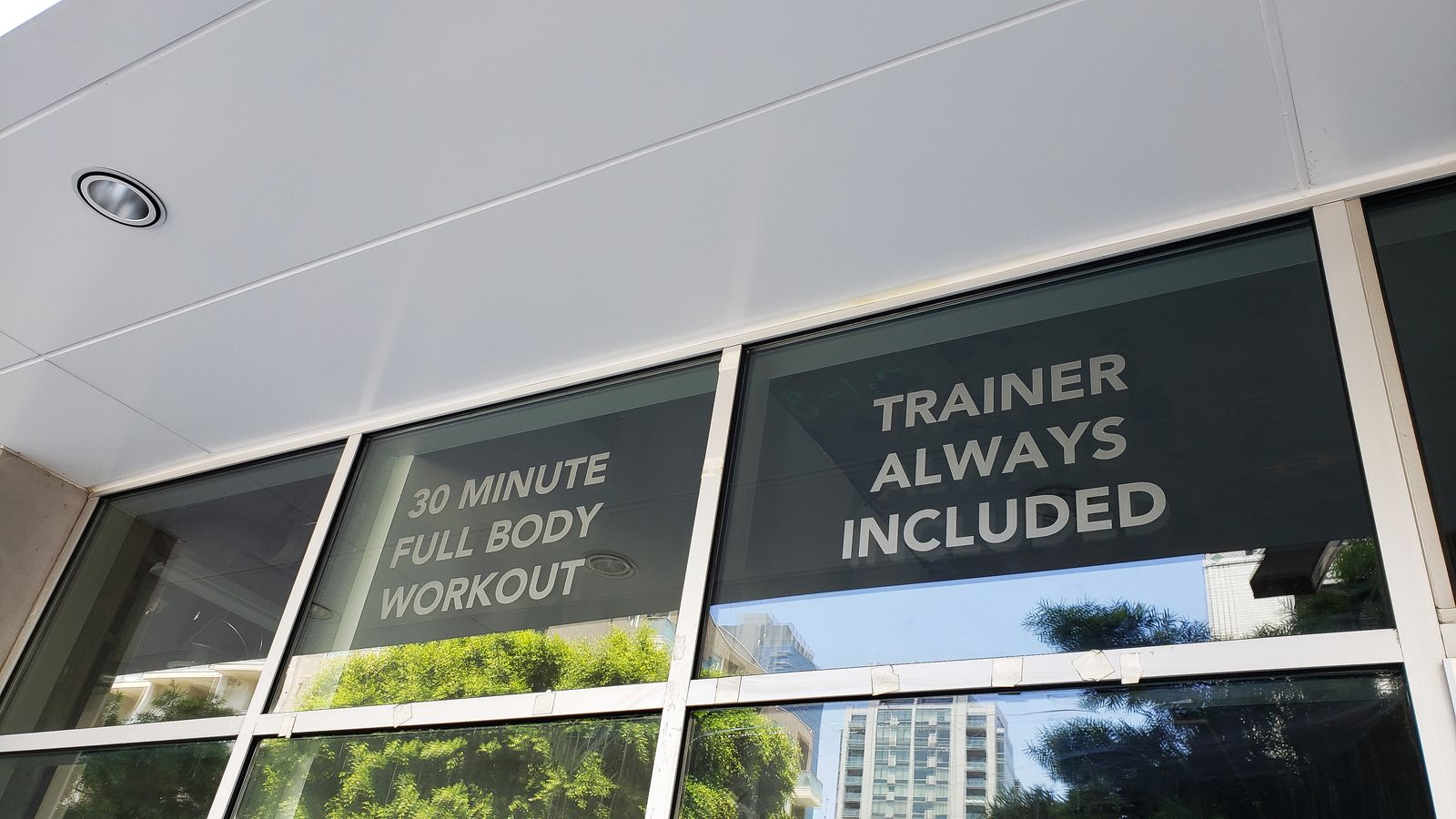 glass wall vinyl lettering