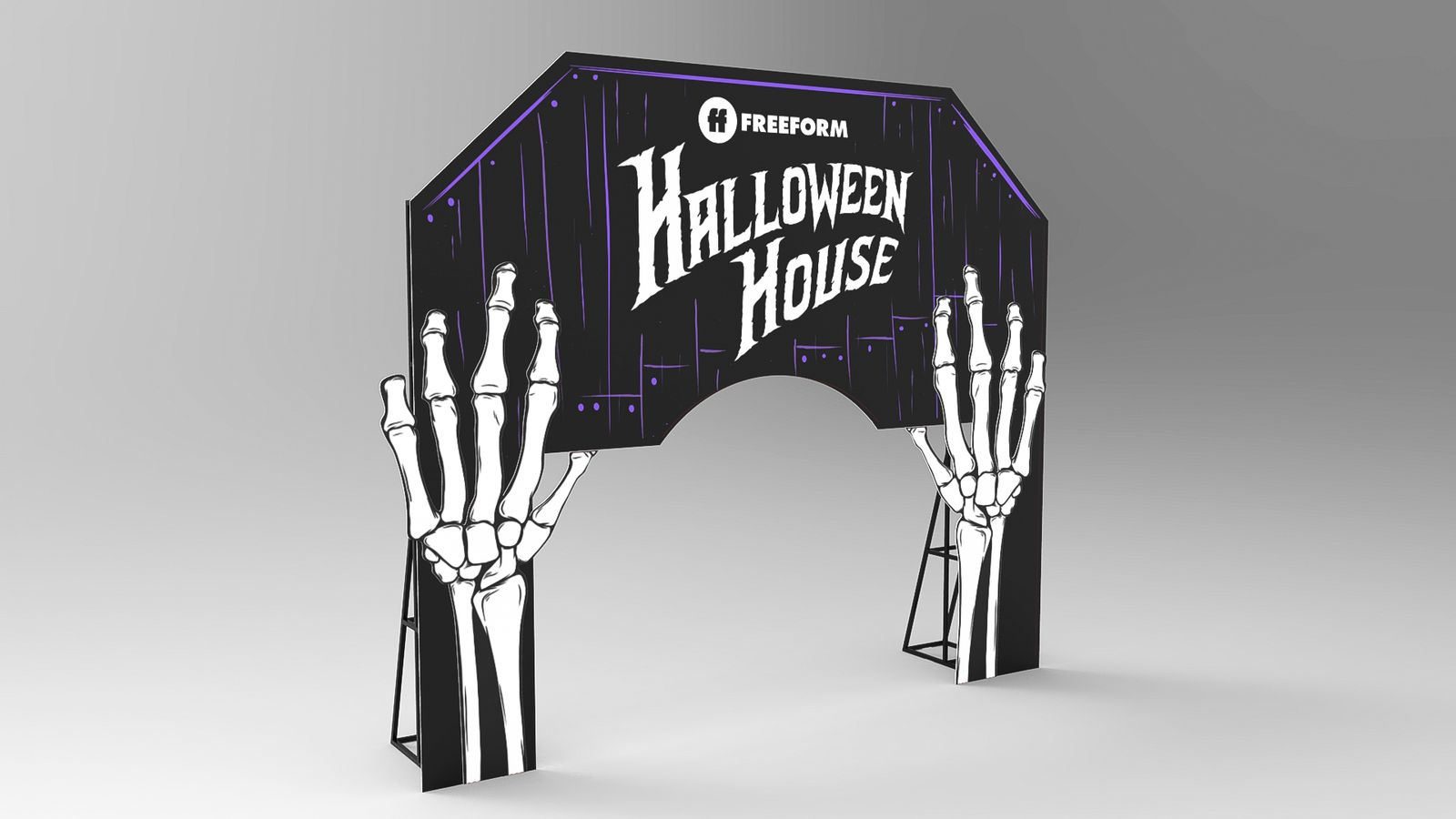 halloween stand 3d modeling