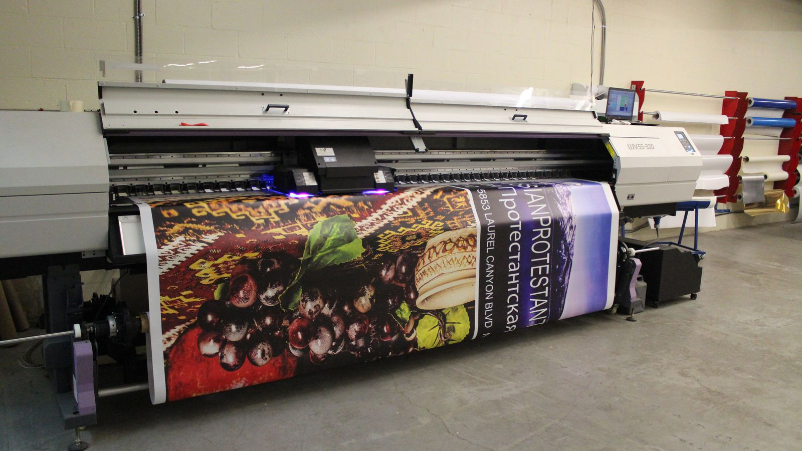 in house banner printing