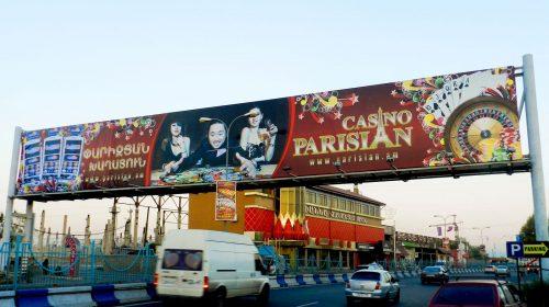 large casino billboard
