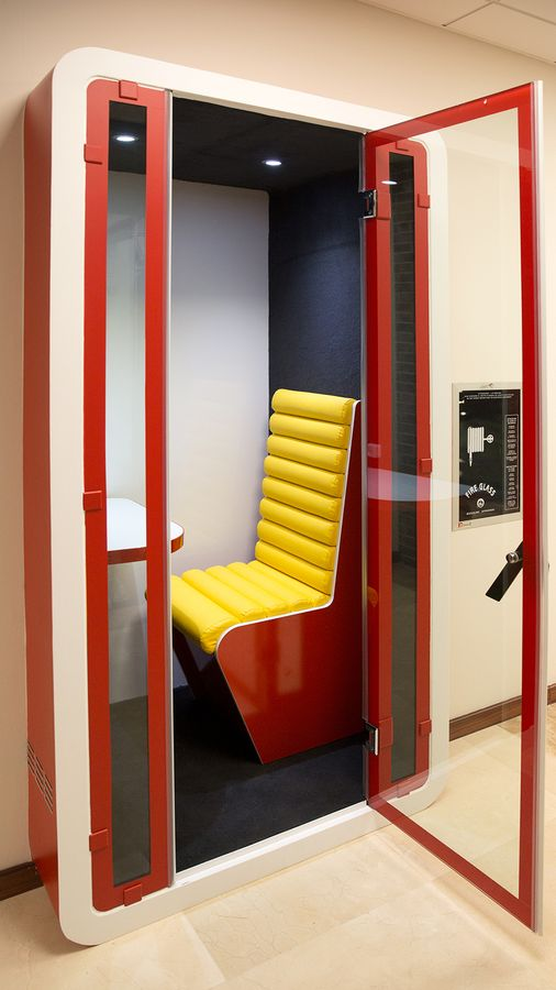 office decorative booth