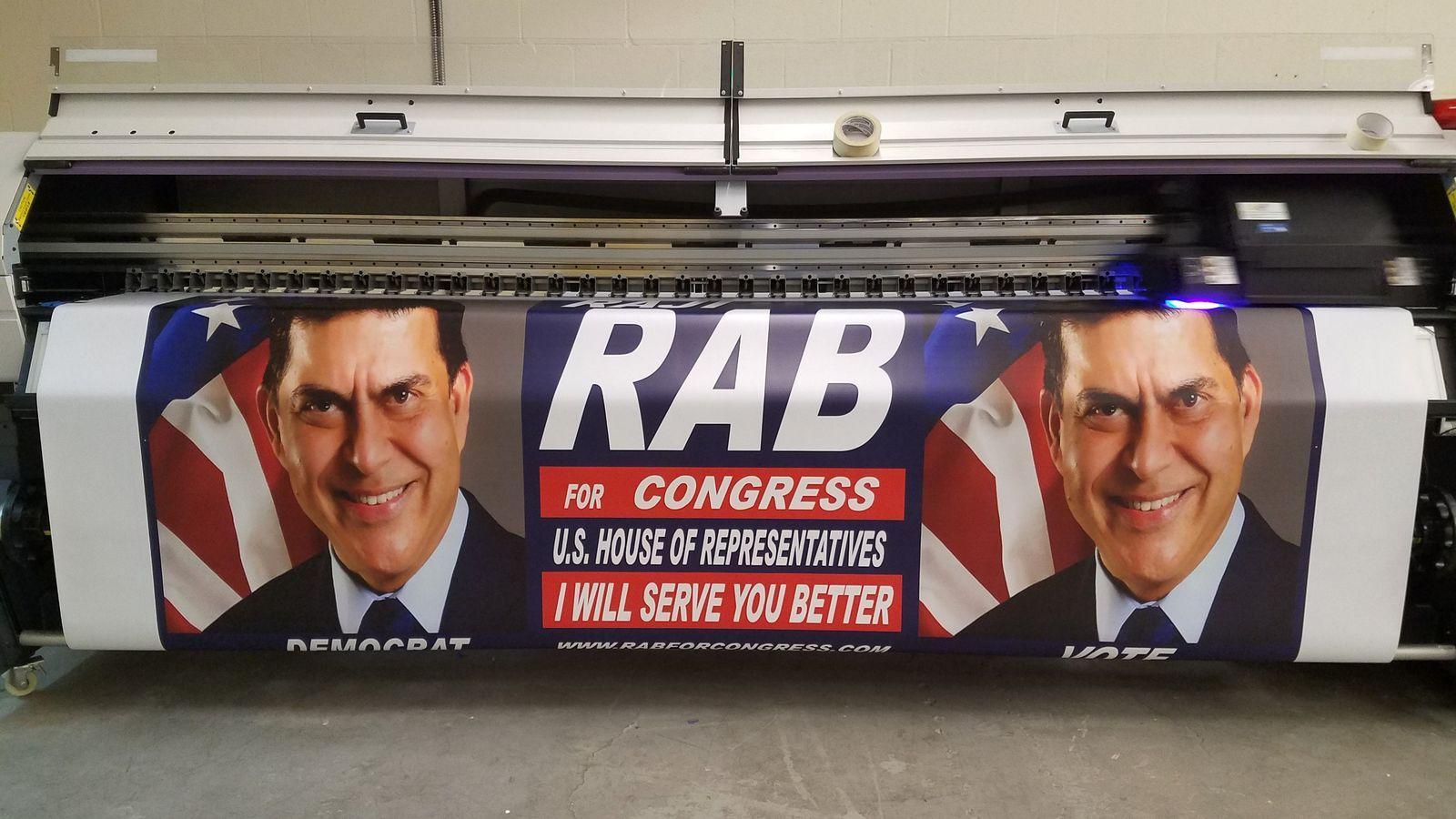 political banner printing