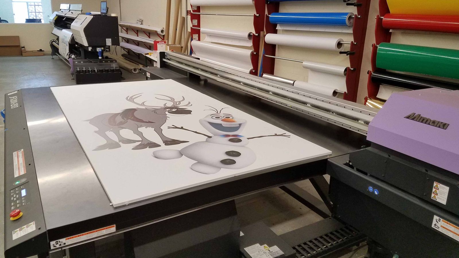 printing cartoon characters