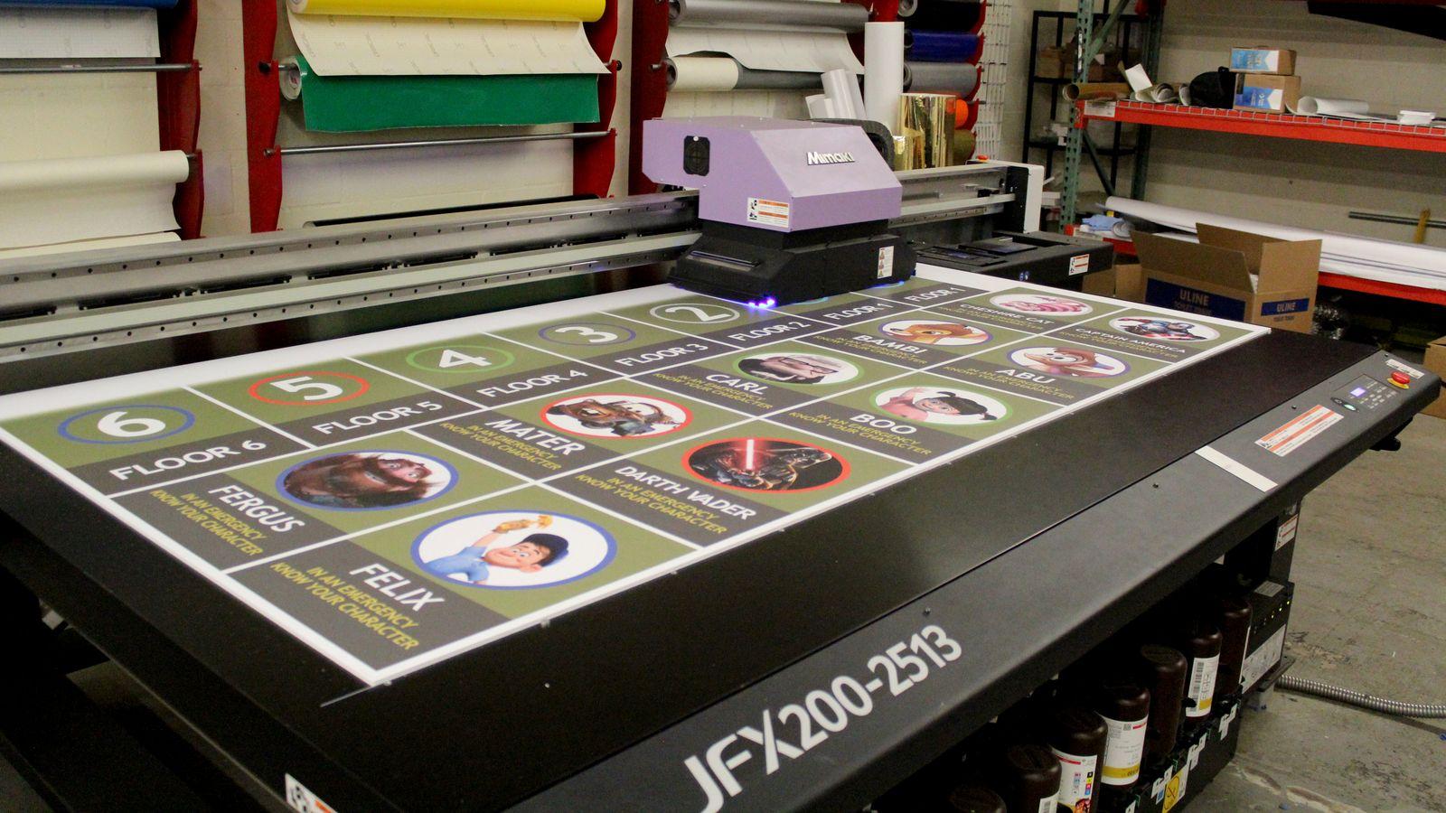pvc board direct printing
