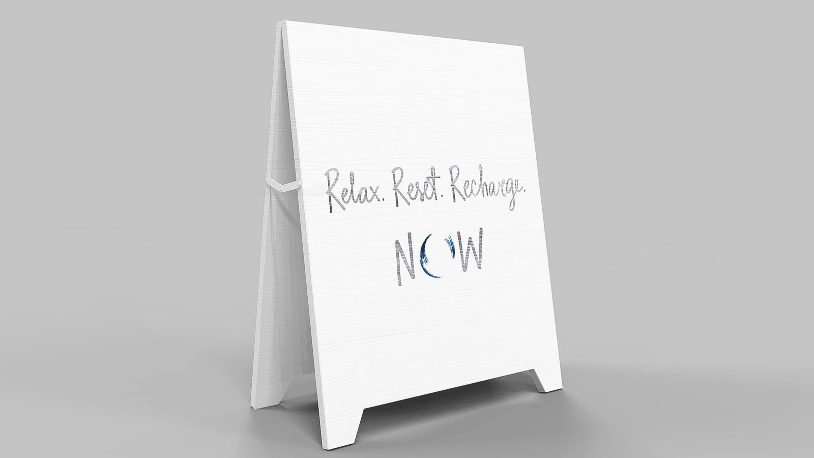 sandwich board 3d rendering